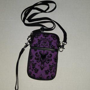 Disney Haunted Mansion Phone Purse Bag Purple